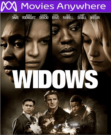 Widows HD UV or iTunes Code via MA