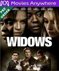 Widows HD UV or iTunes Code via MA (PRE-ORDER WILL EMAIL ON OR BEFORE BLU RAY RELEASE)