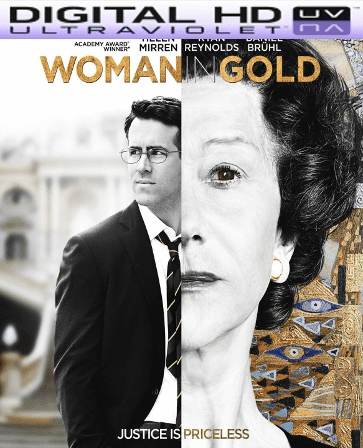 Woman in Gold HD Digital Ultraviolet UV Code