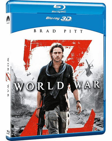 World War Z 3D Blu-ray (USED)