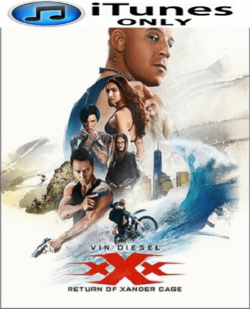 xXx: Return of Xander Cage HD iTunes Code  (LIMITED SUPPLY)