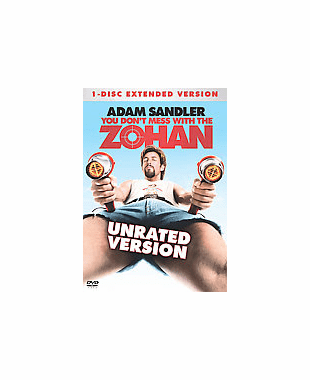 You Dont Mess With The Zohan DVD  Movie