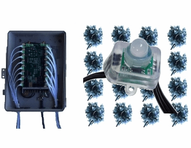 12V - 16x100 Square Pixel Package with PixCon16 Controller
