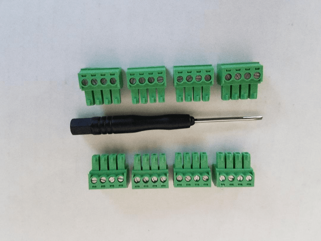 8 Pack of Pixel Connectors for Pixie and PixCon cards