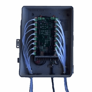 Assembled Controller with PixCon16 Controller - 12 Volts