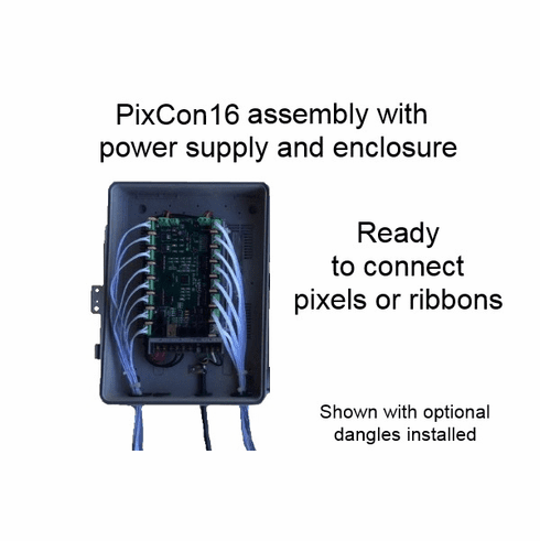 Assembled Controller with PixCon16 Controller - 5 Volts
