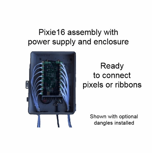 Assembled Controller with Pixie16 Controller - 12 Volt System