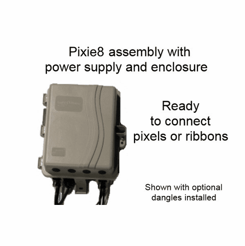 Assembled Controller with Pixie8 Controller - 12 Volt System
