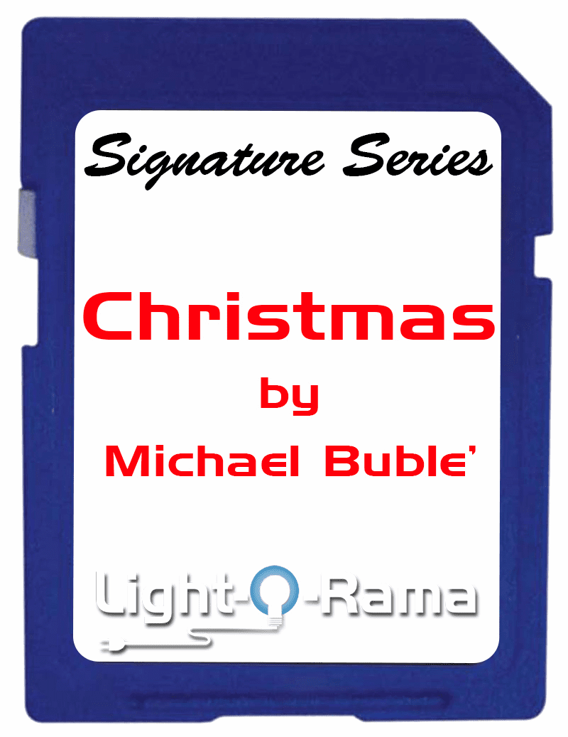 Christmas by Michael Buble SD Card