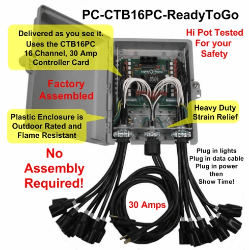 CTB16PC - Ready To Go  ( No Assembly Required )