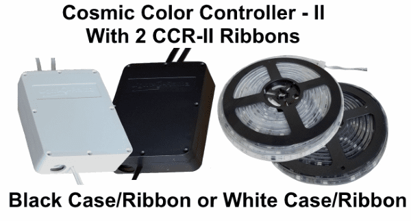 (NEW CCR+) Cosmic Color Controller II with 2 CCR-II Ribbons