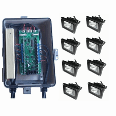 Plug-n-Show: 10W RGB flood packages and parts