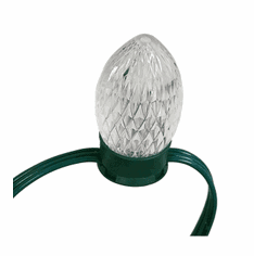 SPECIAL 100 RGB Bulbs Green Wire -Dry Location-