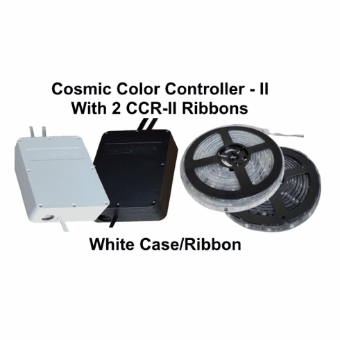 WHITECosmic Color Controller II with 2 CCR-II Ribbons