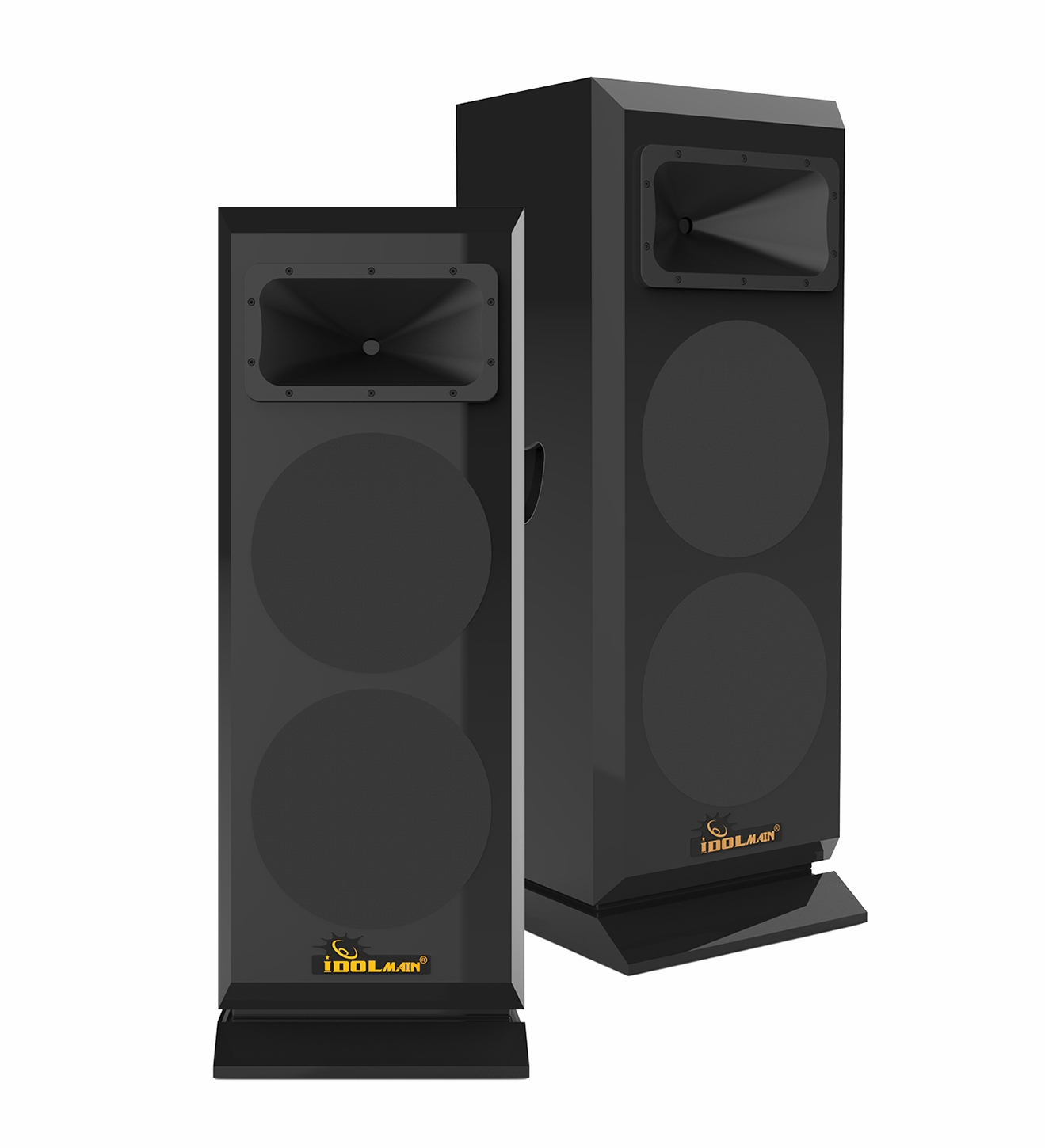 "IDOlmain IPS-DELUXE 3 Professional Floor Standing 3000W Loudspeakers <font color="" orange""><b>NEW & IMPROVED 2021</b></font>"