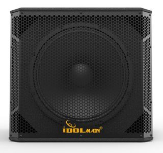 IDOLmain SUB06 15-Inch 1500 Watts Deep Bass Powered Subwoofer With All Wood Cabinets And 14-gauge Grilles