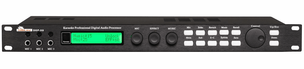 "IDOLPRO DSP-X5 Karaoke Professional Digital Audio Processor <font color="" orange"">Discontinued</font>"