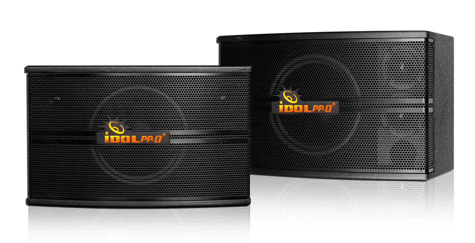 "IDOLpro IPS-590 500W Professional High Fidelity Vocal Karaoke Speakers <font color="" orange""><b>NEW 2019</b></font>"