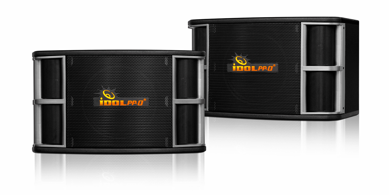 "IDOLpro IPS-650 800W 10""Woofer  3 Way Professional Karaoke Speakers <font color="" orange""><b>NEW 2019</b></font>"
