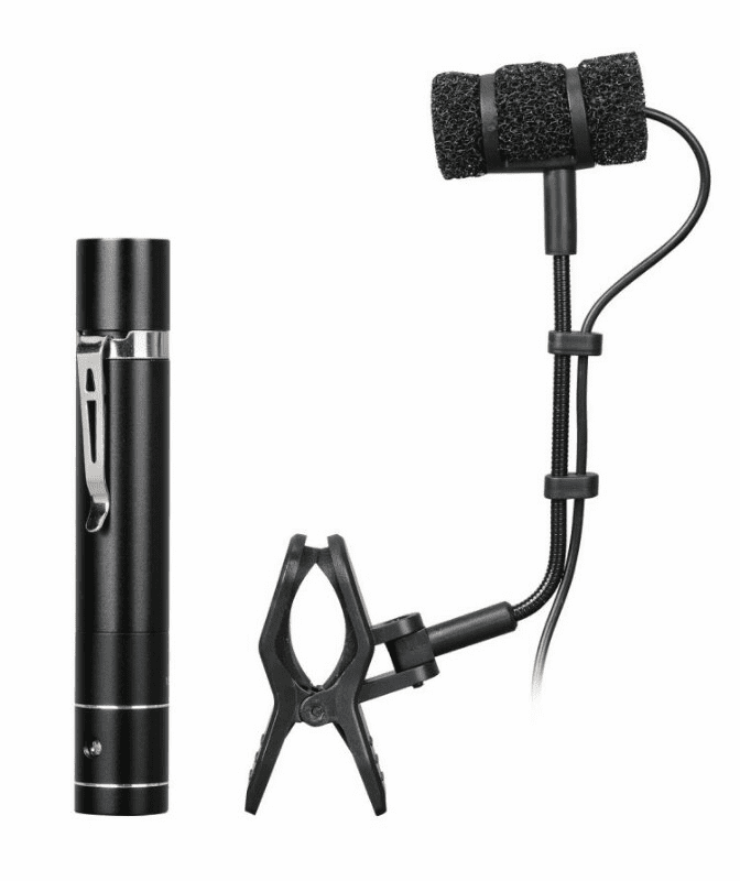 IDOLPRO K-8 Flute, Erhu, Hulusi Microphone With 5M Cable