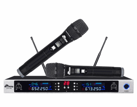"IDOLpro UHF-390 Dual Professional Superior Sound Wireless Microphone System  <font color="" orange""> Discontinued</font>"