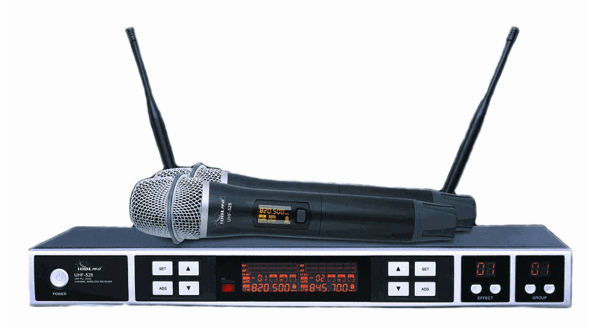 "IDOLPRO UHF-528 Professional KTV Wireless  Microphone<font color="" orange""> Discontinued</font>"