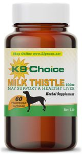 K9 Choice Milk Thistle for Dogs