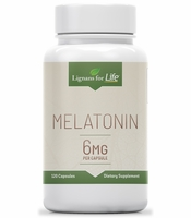 Lignans For Life Melatonin 6mg 120 capsules