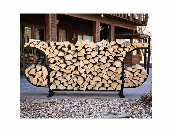 1/2 Cord Woodhaven Courtyard Large Firewood Rack - Currently Out of Stock
