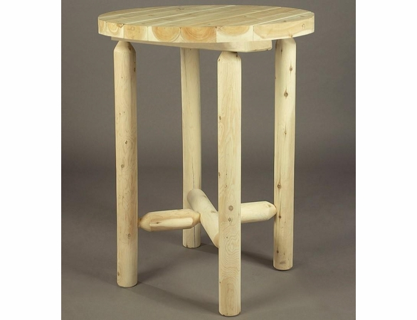 "42"" Log Style Bistro Table"