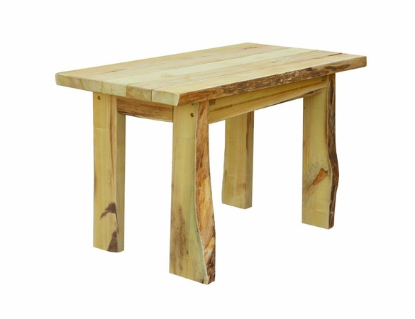 4ft Autumnwood Table Set with 2 Wildwood Benches