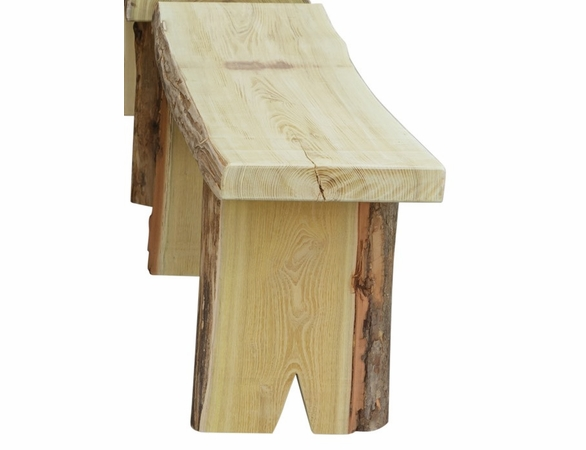 8ft Autumnwood Table Set with 2 Wildwood Benches