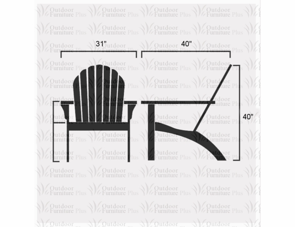 Adirondack Rocker: Signature Series