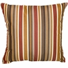 "Berlin Gardens 17"" Square Throw Pillow"