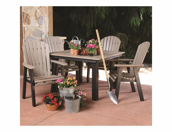 Berlin Gardens Comfo Back 4 Seat Homestead Dining Set