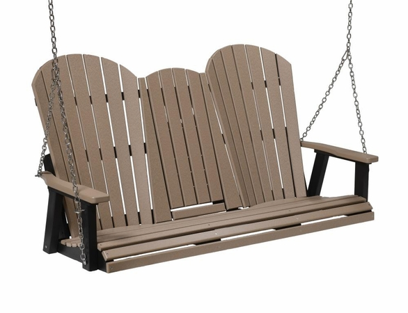 Berlin Gardens Comfo Back Triple Seat Swing