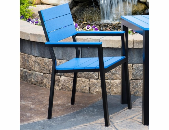 Berlin Gardens PAX Resin Dining Arm Chair