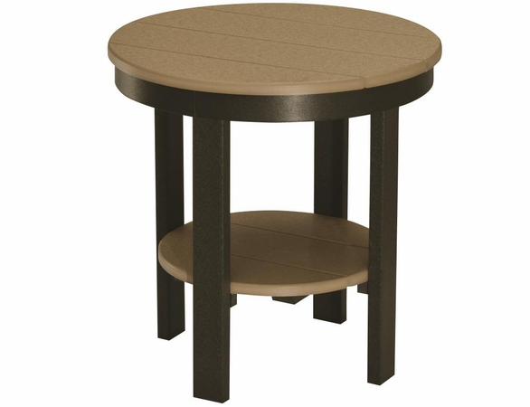 "Berlin Gardens Resin 22"" Round End Table"
