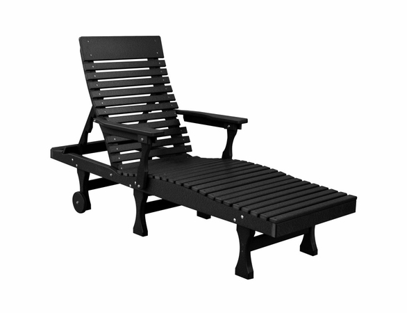 Berlin Gardens Resin Casual Back Chaise Lounge Chair - Not Currently Available