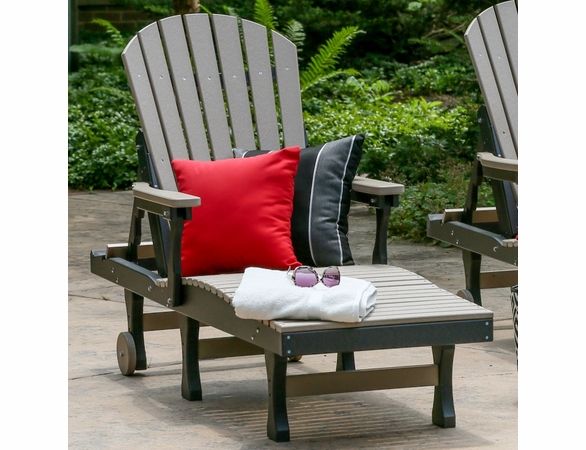 Berlin Gardens Resin Comfo-Back Chaise Lounge Patio Set