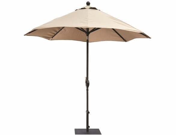 Berlin Gardens Resin Comfo Bar Chair Umbrella Set