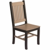 Berlin Gardens Resin Garden Mission Dining Chair