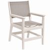Berlin Gardens Resin Mayhew Dining Arm Chair