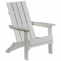 Berlin Gardens Resin Mayhew Folding Adirondack Chair