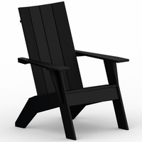 Berlin Gardens Resin Nordic Adirondack Chair