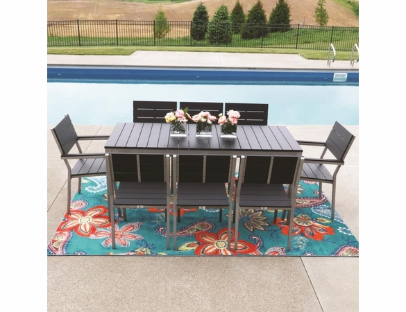 Berlin Gardens Resin PAX 8 Seat Dining Set