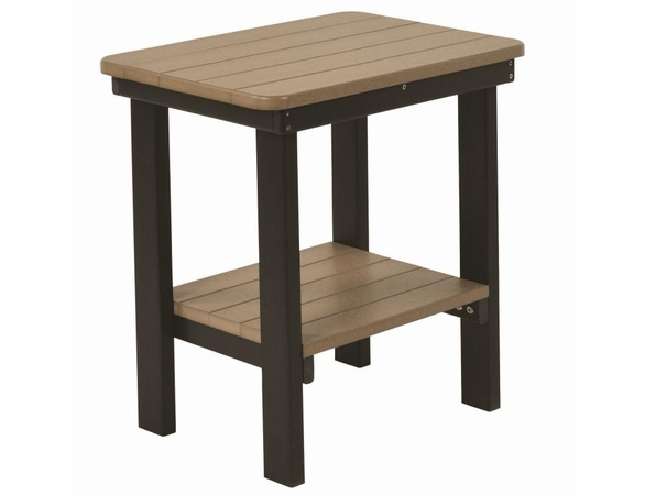 Berlin Gardens Resin Rectangular End Table