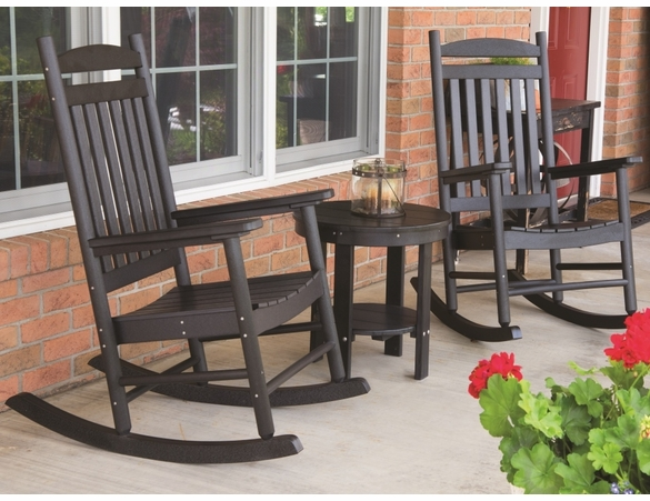 Berlin Gardens Resin Rocking Chair Patio Set - Not Currently Available