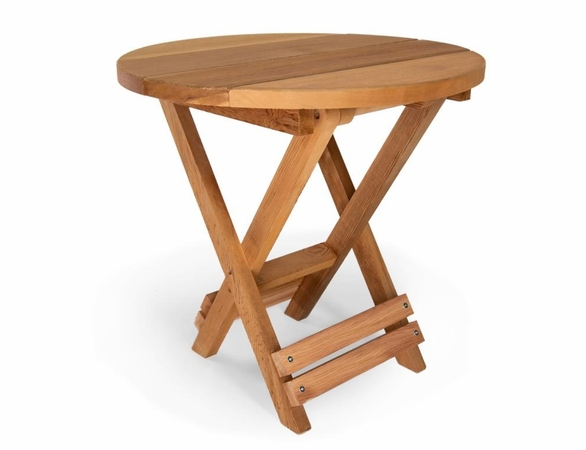 Cedar Folding Andy Bistro Set - Available to Ship End of May