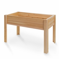 Cedar Large Raised Planter Kit - Available to Ship Mid May